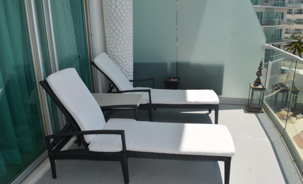 Terrace Icon Vallarta Beachfront Condo For Rent