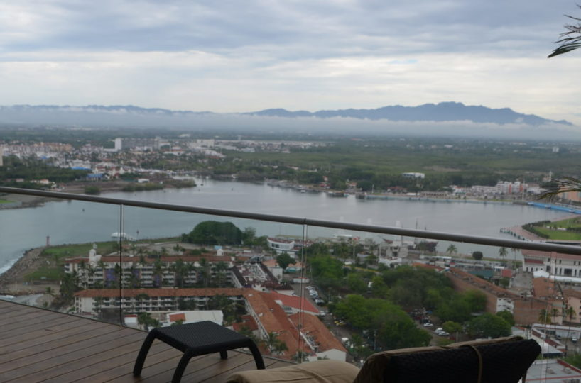 Balcony master room Penthouse Icon Vallarta For Rent