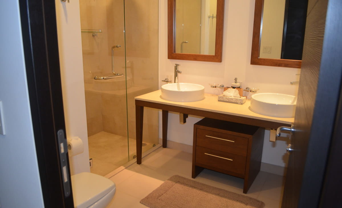 Bathroom Penthouse Icon Vallarta For Rent
