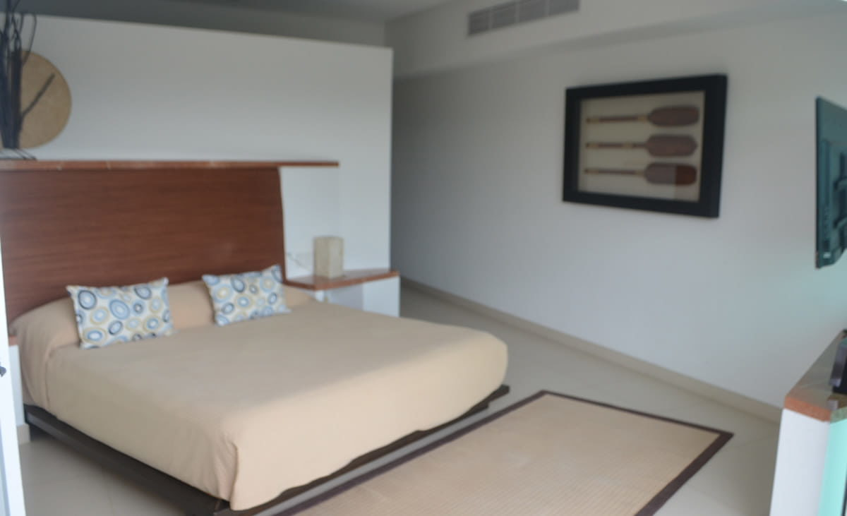 Bed room master Penthouse Icon Vallarta For Rent