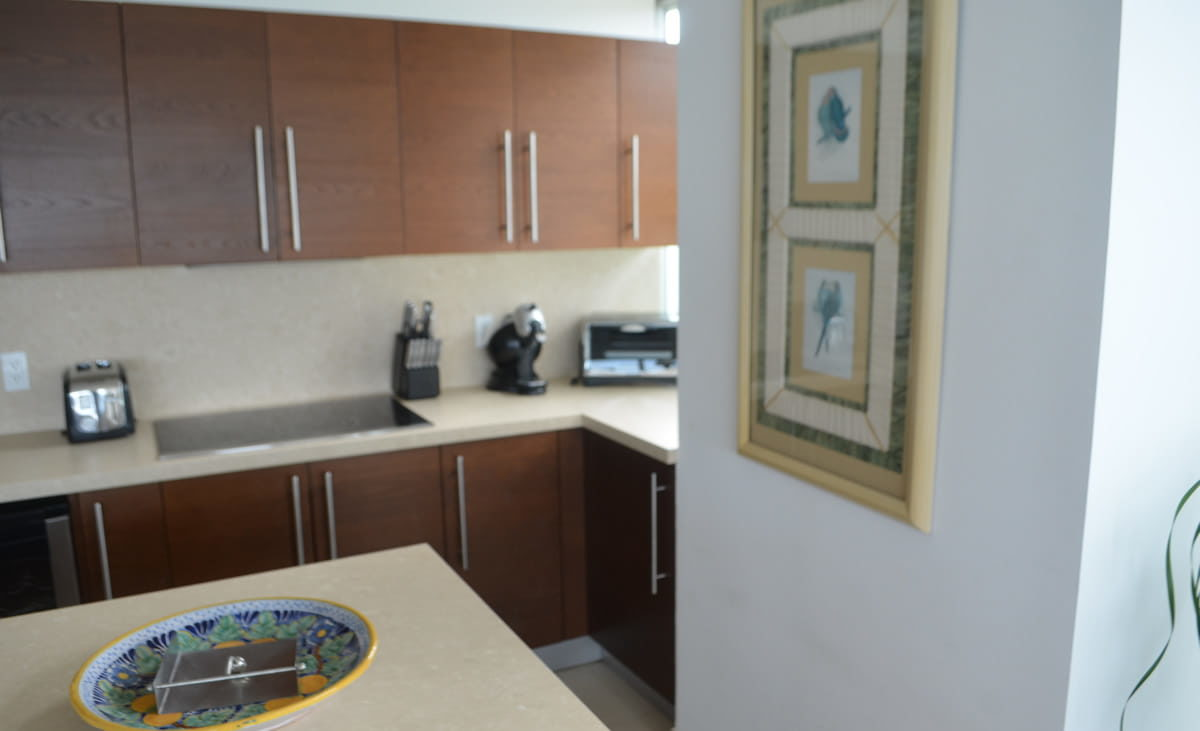 Kitchen decoration Penthouse Icon Vallarta For Rent