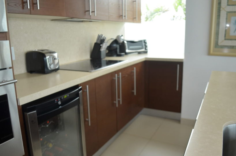 Kitchen Penthouse Icon Vallarta For Rent