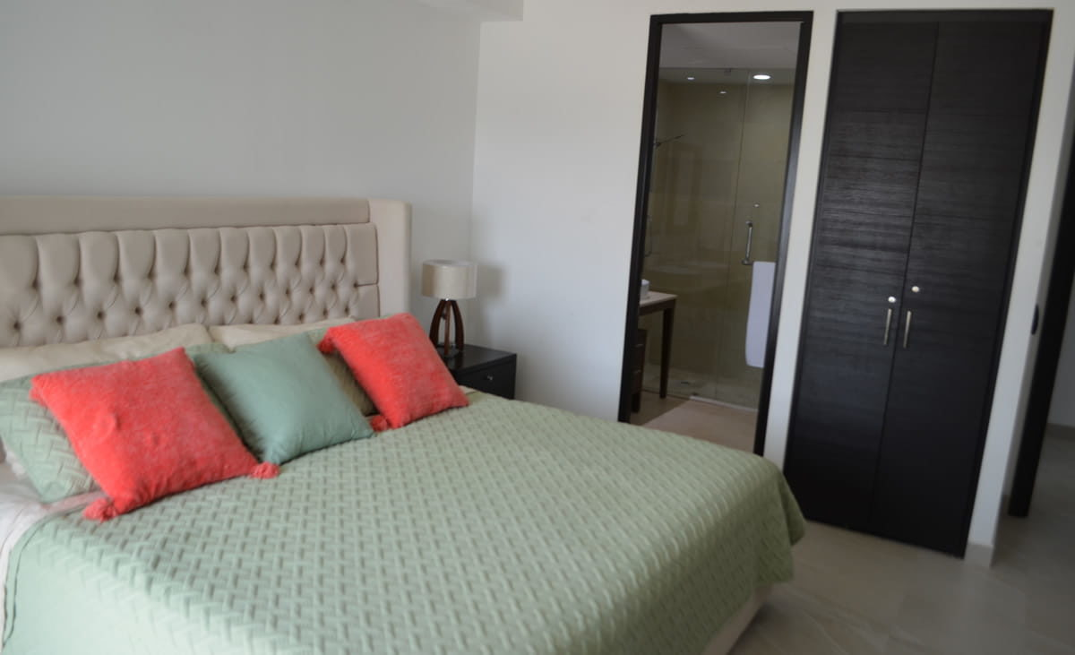 Bedroom master Condo for rent Icon Vallarta