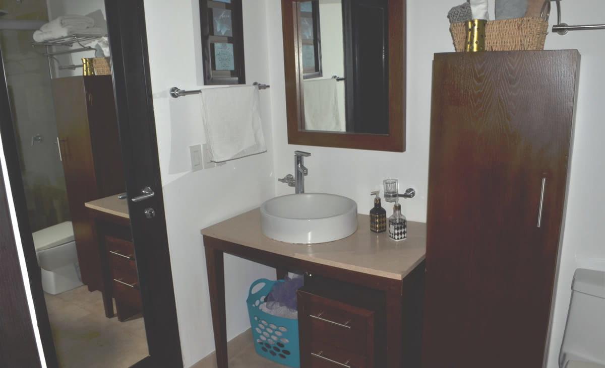 Bathroom decoration Icon Vallarta Condo Rental