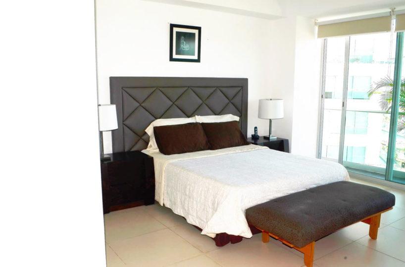 Bed room Icon Vallarta Condo Rental