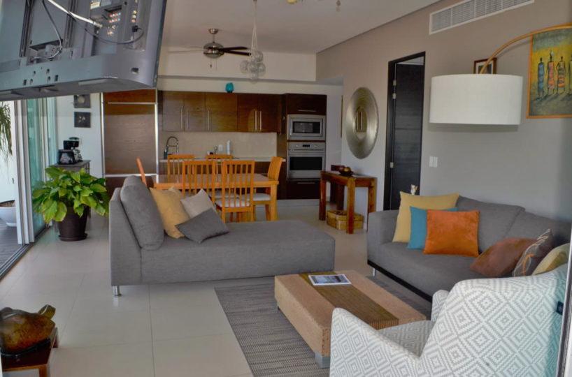 Decoration living room Icon Vallarta Condo Rental