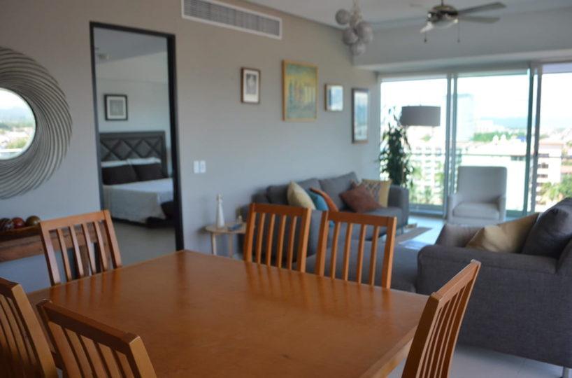 Dinning room Icon Vallarta Condo Rental