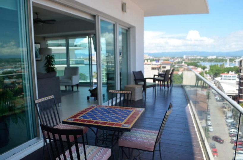 Terrace Icon Vallarta Condo Rental