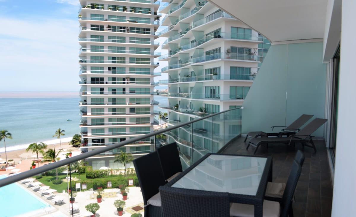 Balcony Icon Vallarta Luxury Condo Rentals