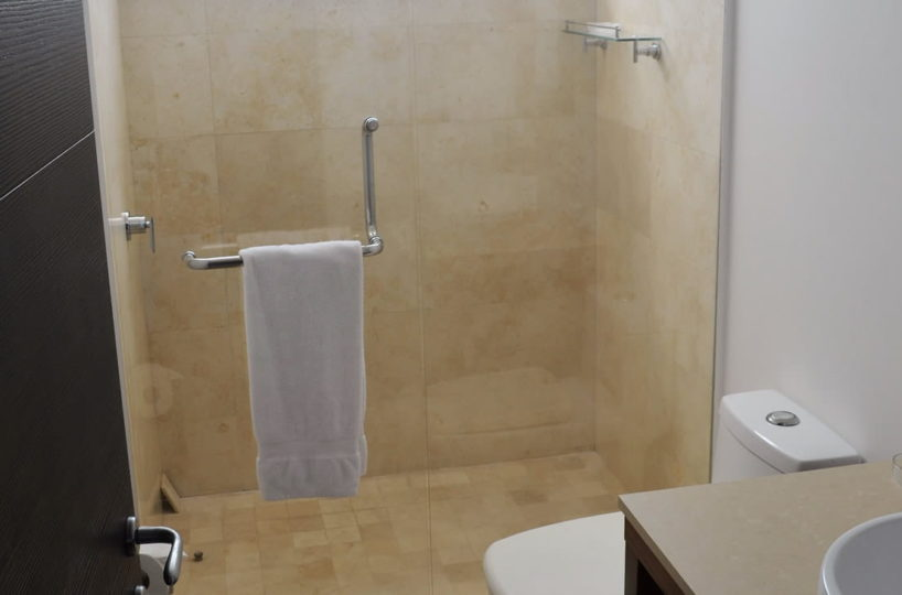 Full bathroom Icon Vallarta Luxury Condo Rentals