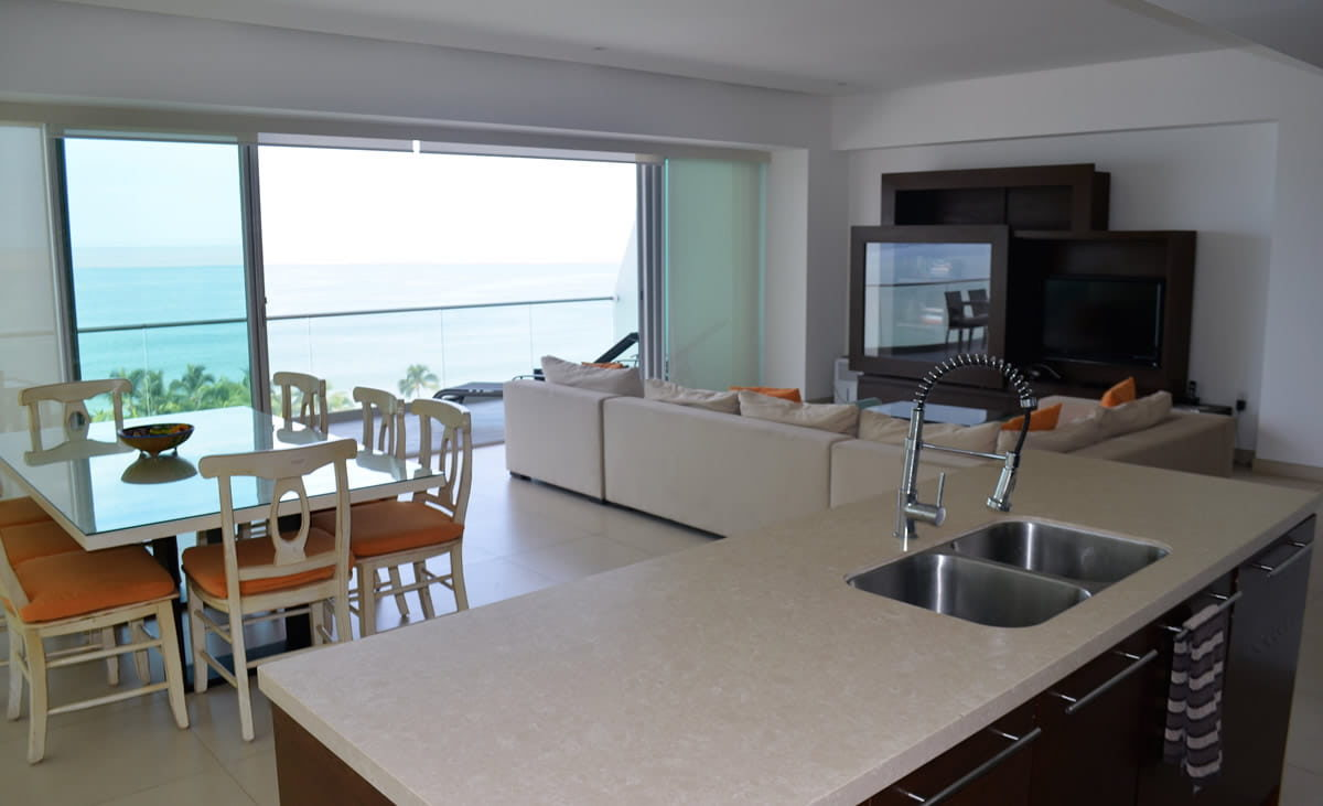 Kitchen Icon Vallarta Luxury Condo Rentals