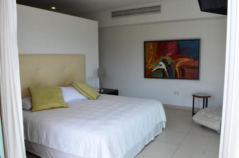Master bedroom Icon Vallarta Luxury Condo Rentals