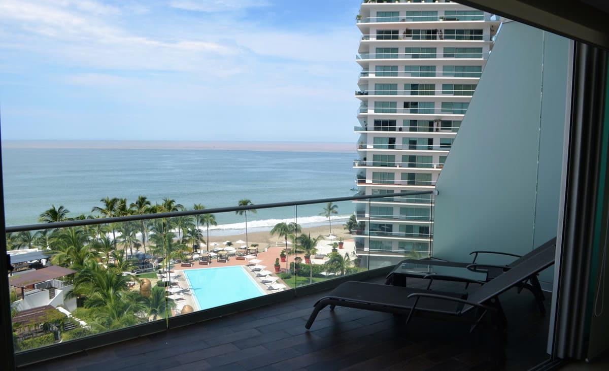 Terrace view Icon Vallarta Luxury Condo Rentals