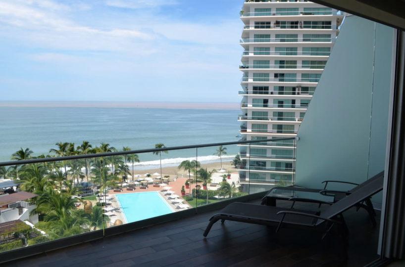 Terrace view Icon Vallarta Luxury Condo Rentals