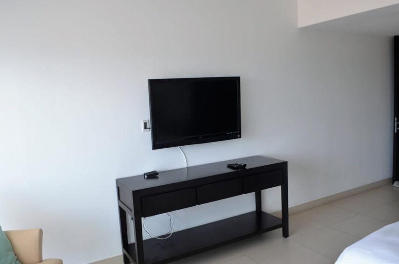 tv bedroom Icon Vallarta Luxury Condo Rentals
