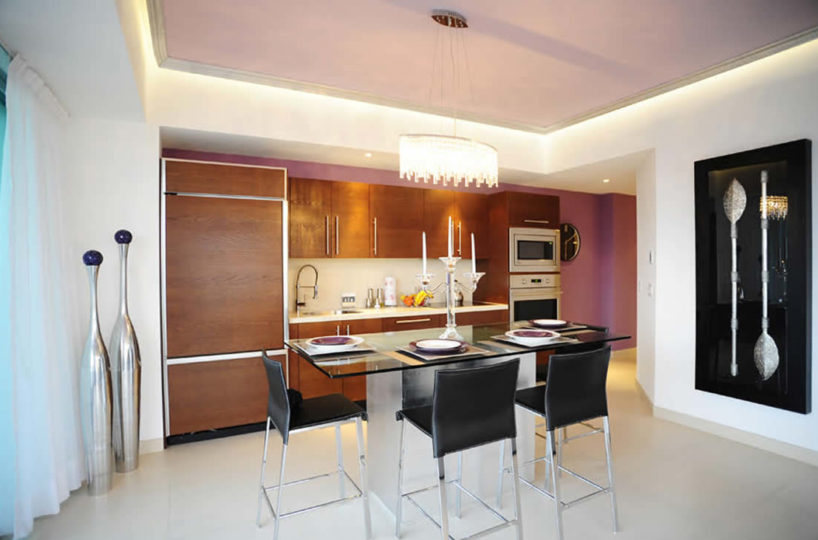 Dinning room Condominium Icon for rent Puerto Vallarta Mexico