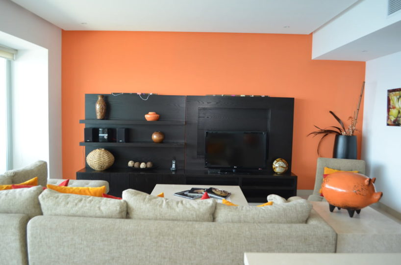 Living room Icon Vallarta Condo Rentals