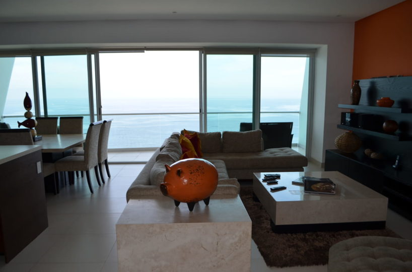 Ocean view Icon Vallarta Condo Rentals