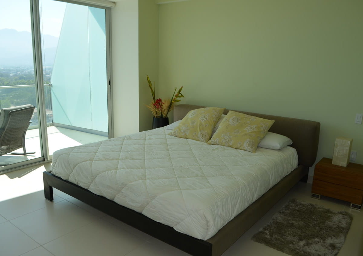 Secondary bedroom Icon Vallarta Condo Rentals